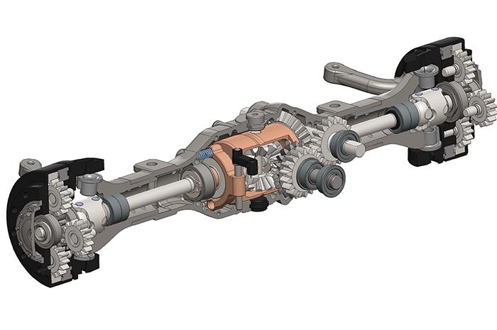 Heavy-Duty Planetary Hub Reduction Axle – Next-Level Drive Technology